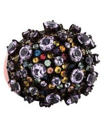 M.c.l  Matthew Campbell Laurenza - Amethyst & Sapphire Cocktail Ring Silver - Lyst