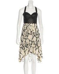 Mackage - Silk Sleeveless Midi Dress Black - Lyst