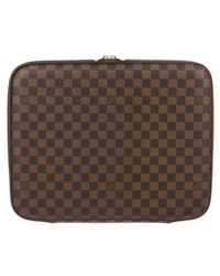 Louis Vuitton - Damier Ebene Laptop Case - Lyst