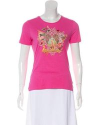 Christian Lacroix - Printed Knit Top Multicolor - Lyst