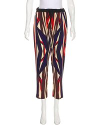 Clover Canyon - Geometric Printed High-rise Pants - Lyst