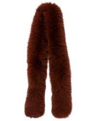 Loeffler Randall - Fox Fur Stole - Lyst
