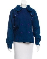 Thierry Colson - Embroidered Double-breasted Jacket W/ Tags - Lyst