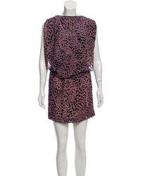 Jasmine Di Milo - Textured Animal Print Dress - Lyst