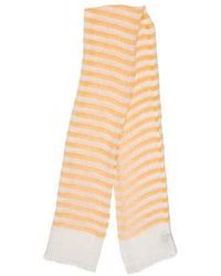 Loro Piana - Striped Linen Scarf - Lyst