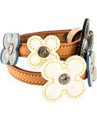 Louis Vuitton - Vernis Fleur Bracelet Tan - Lyst