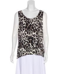 Diane von Furstenberg Silk Print Top w/ Tags Discount New Arrival Cheap Top Quality Discount Best Place 2wUpMIzR