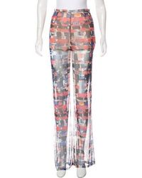 Chanel - 2016 Mid-rise Pants - Lyst