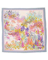 Dior - Printed Silk Scarf - Lyst