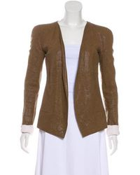 Narciso Rodriguez - Open Front Blazer - Lyst