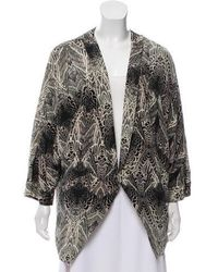 Day Birger et Mikkelsen - Silk Abstract Jacket Multicolor - Lyst