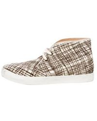 Penelope Chilvers - Ponyhair High-top Sneakers - Lyst