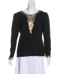 Dior - Long Sleeve Casual Top - Lyst