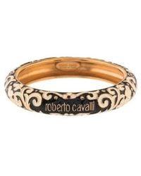 Roberto Cavalli - Enamel Bangle Rose - Lyst