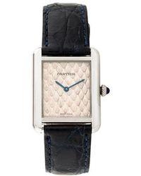Cartier - Tank Solo Watch - Lyst