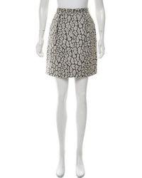 Matthew Williamson - Textured Mini Skirt - Lyst