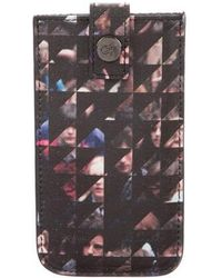 Proenza Schouler - Graphic Print Iphone Case W/ Tags Black - Lyst