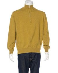 0d482a310 Lyst - Loro Piana Cashmere Half-zip Sweater in Purple for Men