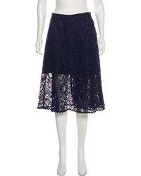 Sacai Luck - Lace Wrap Skirt - Lyst