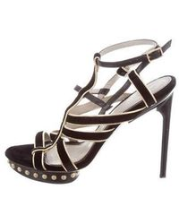 Jason Wu - Platform Gladiator Sandals Black - Lyst