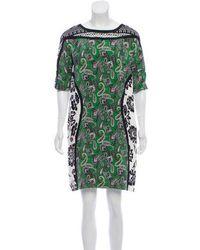 Etro - Silk Knee-length Dress - Lyst