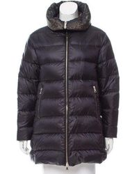 Moncler - Colliers Reversible Coat - Lyst