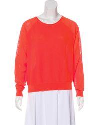 Dagmar - Long Sleeve Knit Sweater Neon - Lyst
