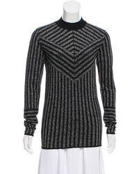 Dodo Bar Or - Lurex Mock Neck Sweater - Lyst