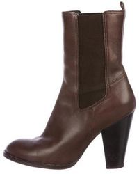 Kors by Michael Kors - Kors By Michael Chelsea Leather Booties - Lyst