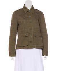 Marc Jacobs - Button-up Utility Jacket Olive - Lyst