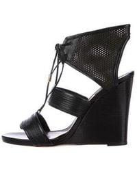 Derek Lam - Leather Wedge Sandals - Lyst