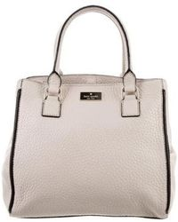 787b059ebce0b Lyst - Kate Spade New York  prospect Place - Small Pippa  Leather ...