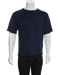 MM6 by Maison Martin Margiela - Textured Short Sleeve Shirt - Lyst