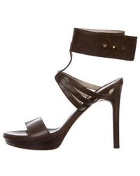 Maiyet - Leather Ankle Strap Sandals - Lyst