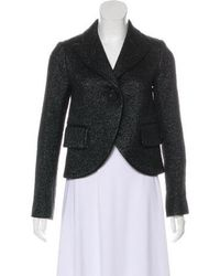 Marc Jacobs - Metallic Wool-blend Jacket W/ Tags - Lyst