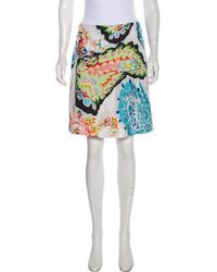 Christian Lacroix - Silk-blend Jacquard Skirt - Lyst