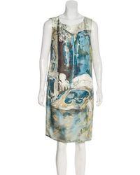 Piazza Sempione - Printed Shift Dress Multicolor - Lyst