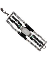 Erickson Beamon - Multistrand Crystal Bracelet - Lyst
