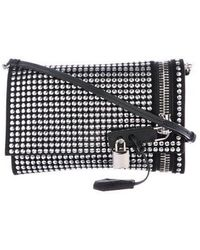 Tom Ford - Studded Alix Fold-over Crossbody Bag Black - Lyst