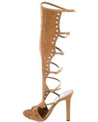 Tamara Mellon - Bad Girl Gladiator Sandals W/ Tags Gold - Lyst