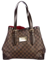 Louis Vuitton - Damier Ebene Hampstead Mm - Lyst