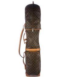Louis Vuitton - Vintage Monogram Golf Bag Brown - Lyst