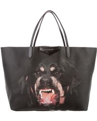 3053264f20c Recently sold out. Givenchy - Large Rottweiler Antigona Tote Black - Lyst