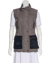 Veronica Beard - Virgin Wool Houndstooth Vest W/ Tags - Lyst