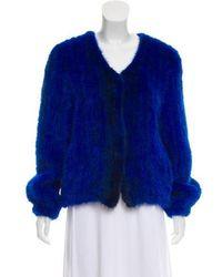 Helen Yarmak International - Knitted Mink Jacket - Lyst