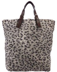 3.1 Phillip Lim - Quilted Animal Print Tote Grey - Lyst