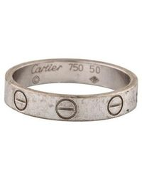 Cartier - Love Band White - Lyst