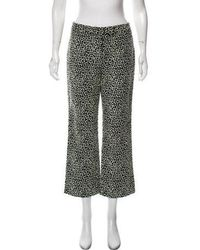 Trademark - Embroidered Cropped Pants - Lyst