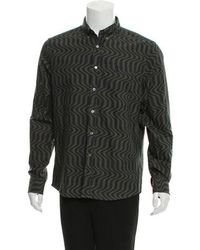 Opening Ceremony - Abstract Print Button-up Shirt W/ Tags - Lyst