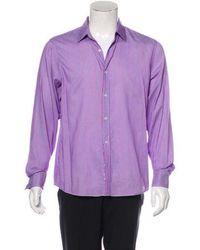 Michael Kors - Striped Dress Shirt - Lyst